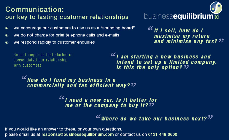 Customer Relationships page